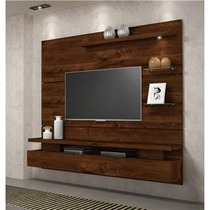 Rack Com Painel Fixo Gc P/ Tv Led Lcd 42 Pol C/ Iluminaria