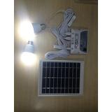 Kit Painel Solar Com Gerador Portátil,