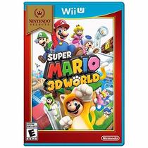 Super Mario 3d World - Nintendo Wii U [físico] Fgk