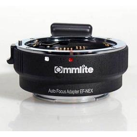 Adaptador Canon Eos Ef Full Sony Nex A7 A7r A7s A6300 A6500