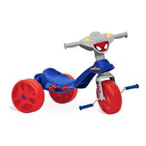 Triciclo Velotrol Infantil Menino Homem Aranha Bandeirantes