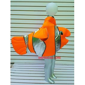 Disfraz De Pez Nemo Tiburon Rana Abeja Mariposa Leon Pescado