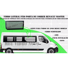 Vidro Renault Master Lateral