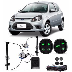 Kit Vidro Eletrico Sensorizado Ford Ka 2008 09 10 11 12 2014