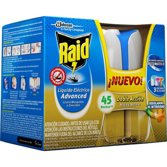 Raid Aparato Liquido Eléctrico Advanced Doble Acción 45 Noch