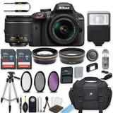 Nikon D3400 18-55mm Con Accesorios