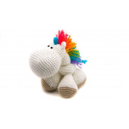 Amigurumi Crochet Ganchillo Tejido Unicornio Nayisk Handmade