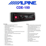 Alpine Cde-150