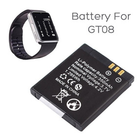 Bateria Gt08 350mah 3.7v Smartwatch Relógio Celular