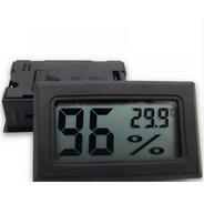 Mini Termômetro Higrômetro Digital / Umidade C/ Display Lcd