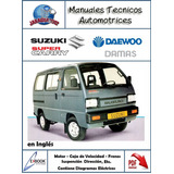 Manual Taller Suzuki Chevrolet Super Carry Daewoo Damas Pdf