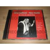 Silvio Rodriguez & Pablo Milanes En Vivo En Argentina (cd)