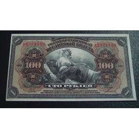 Rarissima Cédula Da Rússia 100 Rublo Ano 1918 Fe - Veja