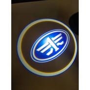 Faw Luz De Cortesia Proyectores De Puertas Logo 2pzas