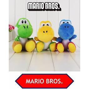 Peluche Yoshi Original 17cm Mario Bros - Envio Gratis