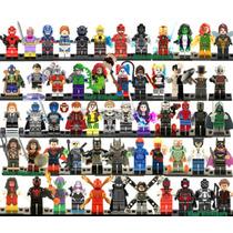 Personajes Marvel Y Dc Lego Sim. Muchos Disponibles