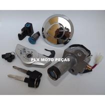 Kit Chave Ignição Cg Titan 150 Ano 2004 A 2008 ( 5 Peças )