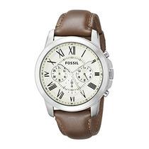 Fossil Fs4735 Subvención De Brown Reloj De Cuer Envío Gratis