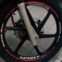 Friso Refletivo Adesivo Roda Interno Moto Honda Biz 100 125
