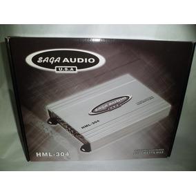 Amplificador Saga Audio Planta De Carro Hml-304 2200w