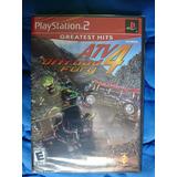 Atv Offroad Fury 4 Playstation 2 Ps2 Nuevo Y Sellado