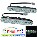 Faro Led Kit Luces Auxiliares Drl Led Cree X2 Antinieblas!