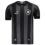 O U T L E T 456 -- Camisa Botafogo Oficial Topper Away 2016