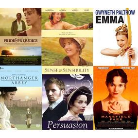 Coleção De Filmes De Jane Austen Em Dvd