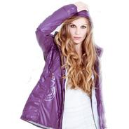 Campera Mujer - Impermeable. Abrigadisima! Liviana