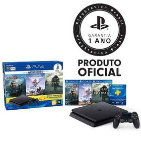 Console Playstation 4 Slim Hits Bundle 4 Geração - Ps4