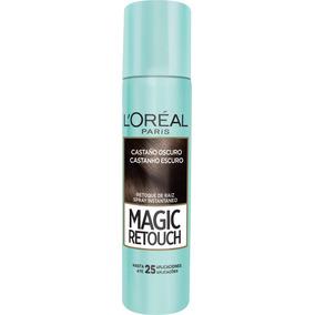 Retoque Raiz Spray Instantâneo Magic Retouch Castanho Escuro
