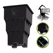 Maceta Cultivo Inteligente Roots House 10 Litros Negra