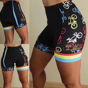 Roupas De Ciclismo, Bermuda Feminina