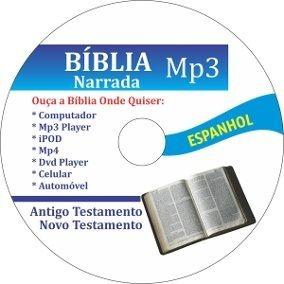 Bíblia Sagrada Áudio Mp3 - Falada Em Espanhol - Via E-mail