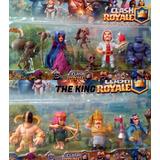 Set 10 Muñecos Figuras Clash Royale - Envios A Todo El Pais!