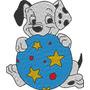 Matriz De Bordado 101 Dalmatas #2 Desenhos Disney Cachorro
