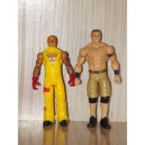 Lote Bonecos Wwe Mattel - Rey Mysterio + John Cena