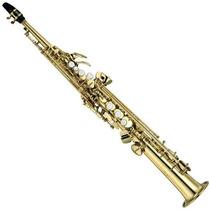 Saxofone Soprano Yamaha Yss 475 Ll