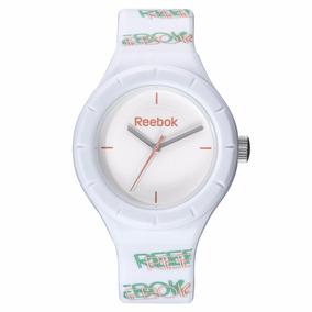 Reebok Reloj Análogo Para Mujer Blanco Mod Rf-twg-l2-pwpw-wc