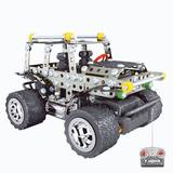 Jeep Radio Control Metalico Para Armar Envio Gratis.