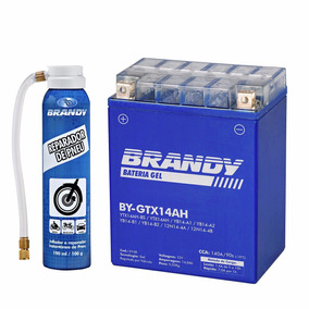 Bateria Cbx 750f Gel Brandy By-gtx14ah + Reparador