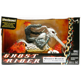 Ghost Rider En Moto Sonidos Electronico Flame Cycle Marvel