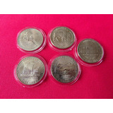 Moneda Coleccion 5 Centavos Usa Jefferson Buffalo Ceca D