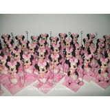 Minnie Y Mickey Souvenirs Porcelana Fria