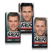 Just For Men Colorante En Shampoo Cubre Canas Pack 3un