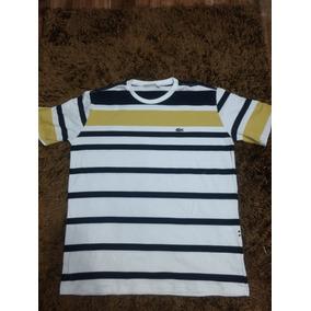 8d9d74b26c2 Camisa Lacoste Italy - Camisas Ocre no Mercado Livre Brasil
