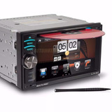 Central Multimídia Multilaser P3225 6.2 Gps Tv Digital Usb