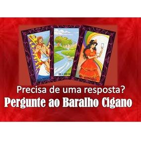 Consulta Baralho Cigano 4 Perguntas Tarot Cigano Lenormand
