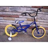 Bicicleta X-terra Boca R16 Incluye Una Remera Richard Bikes