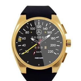 Relógio Mercedes Monstrador Preto - Lindíssimo - Novo Okm